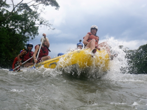 Rafting rivers Ecuador
