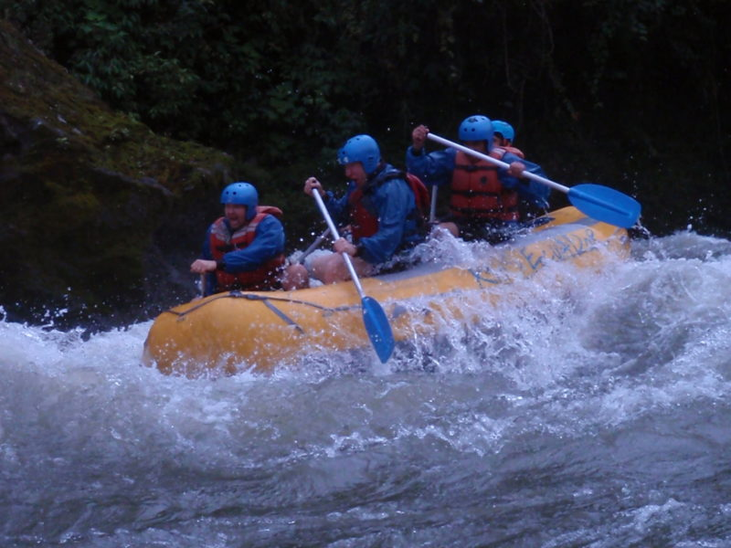Best rafting from quito