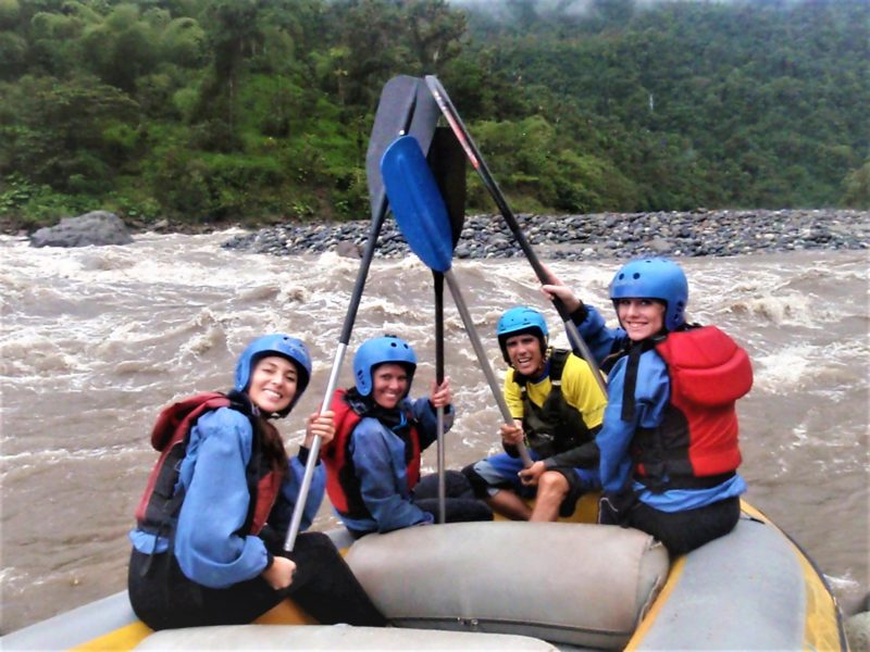 One day rafting Quito