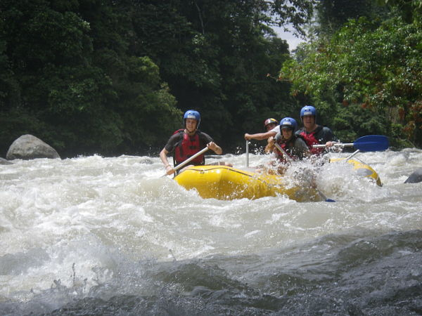 Rafting for families ecuador