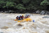 Cloud forest rafting Ecuador