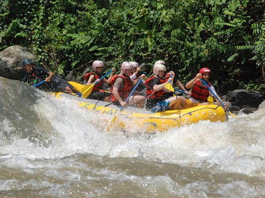 Adventure Rafting in Toachi an Blanco Rivers
