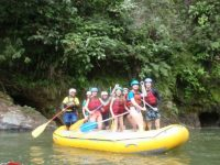 Rafting near quito